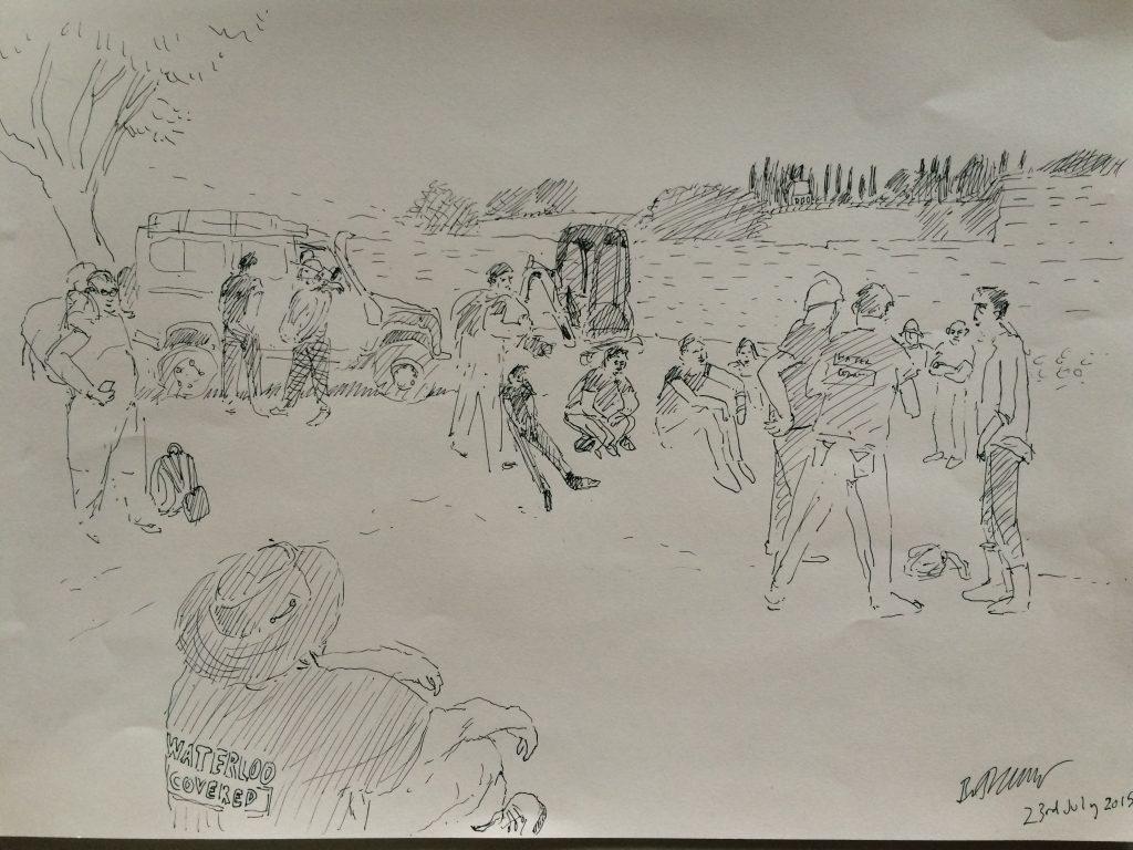 Beth Collar's sketch
