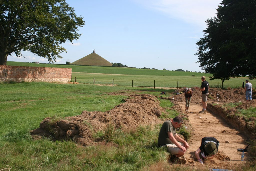 Excavating in the Killing Ground