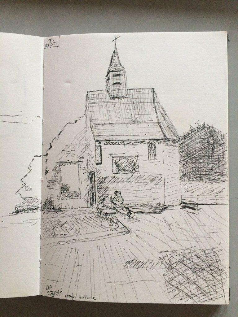 Dougie's sketch
