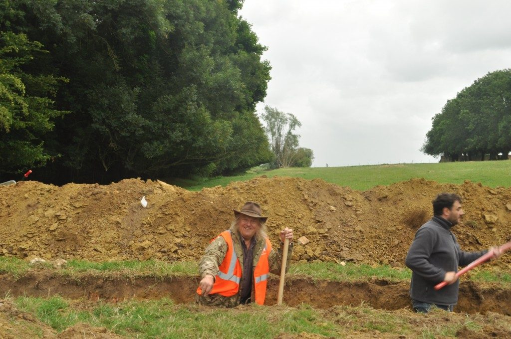 Phil Harding, President of Defence Archaeology Group