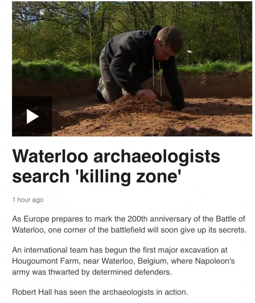 Waterloo Uncovered on BBC