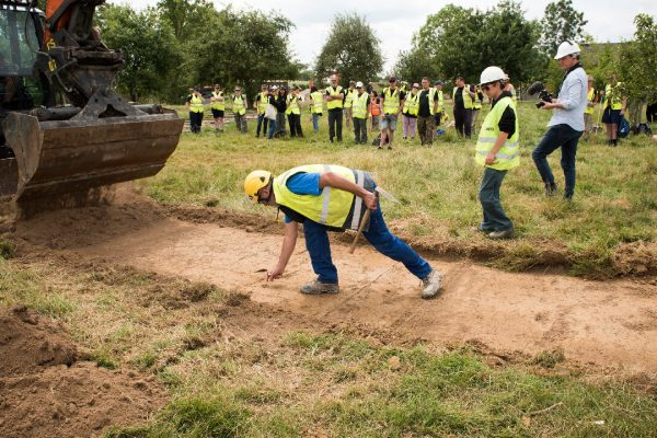 Explore where archaeology meets military history