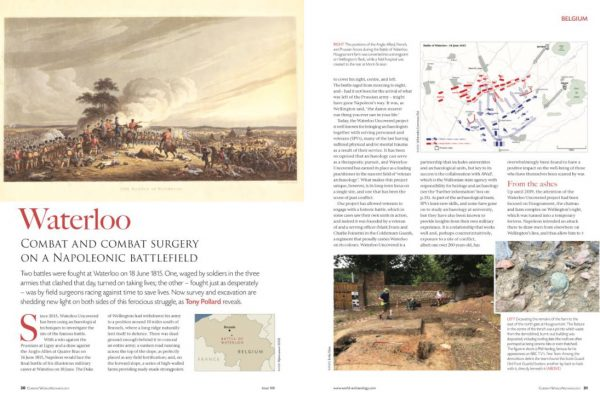 Waterloo: Combat and Combat Surgery on a Napoleonic Battlefield