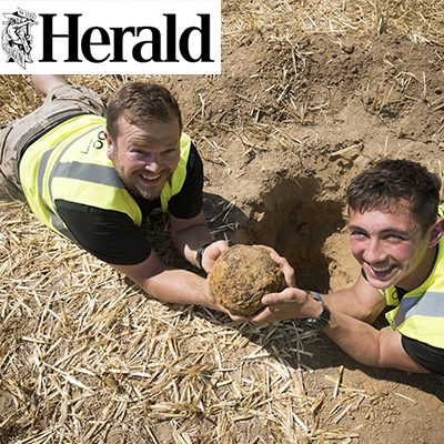 Waterloo Dig Helps to Heal Life's Wounds