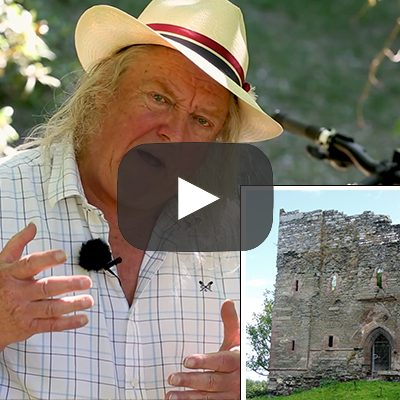 Phil Harding and Hopton Castle