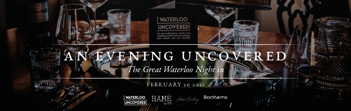 The banner and logo for An Evening Uncovered.
