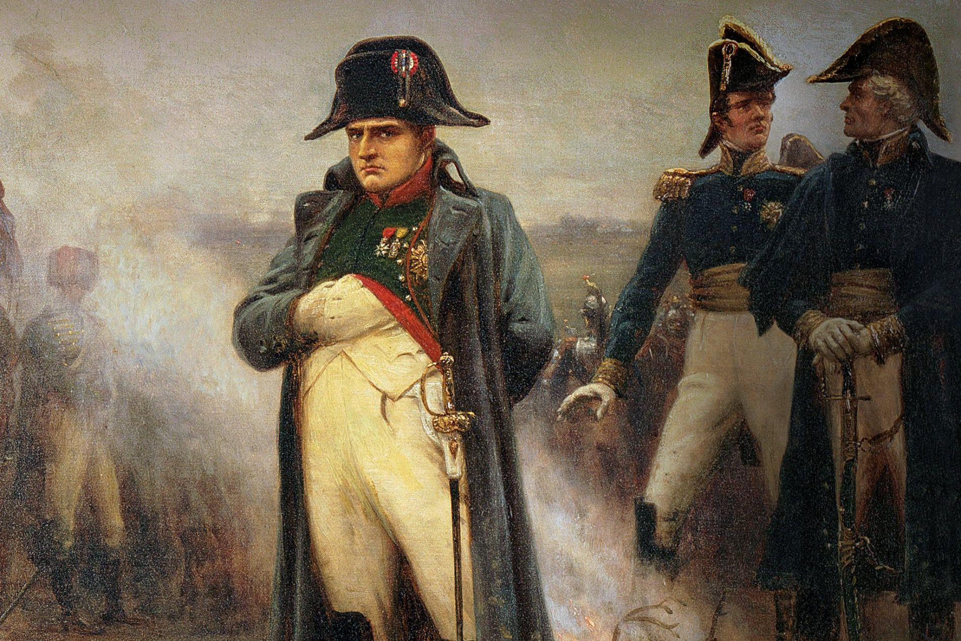 """Featured image for """"French Near Victory at Waterloo?"""""""