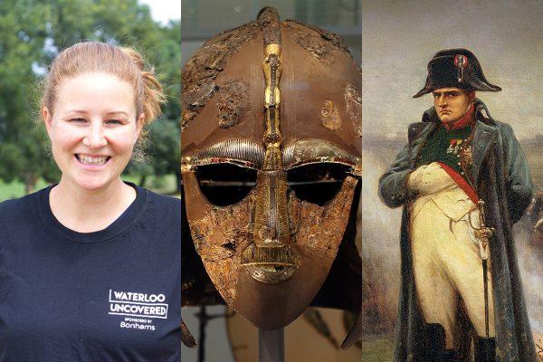 Veteran Jo Clark, the Sutton Hoo helmet, and Napoleon Bonaparte