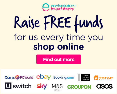 Examples of shops that easy fundraising works with, including argos and marks and spencers