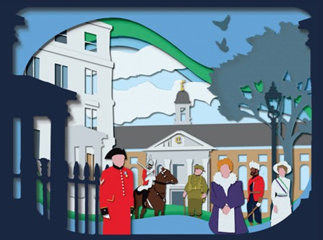 Promotional image for Chelsea History Festival